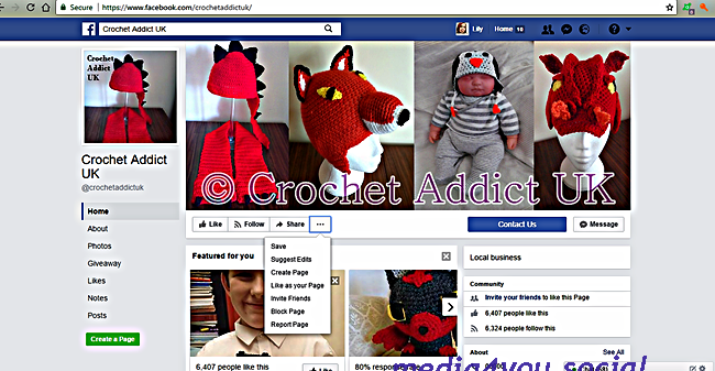 Like as your page crochet uk addict